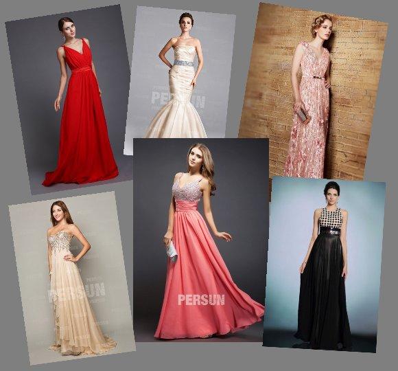 Elegante Abendkleider online kaufen-PERSUNKLEID