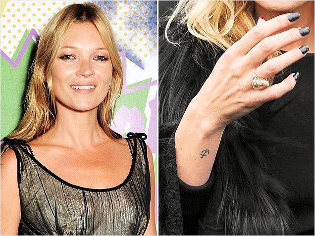 Winzige promi tattoos die uns mit tinte beschmiert sofort for Kate moss tattoo