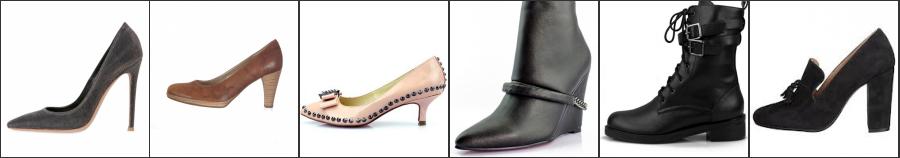 Wunderschöne Sandalen, Pumps und Stiefel mit Absatz in verschiedene Stile