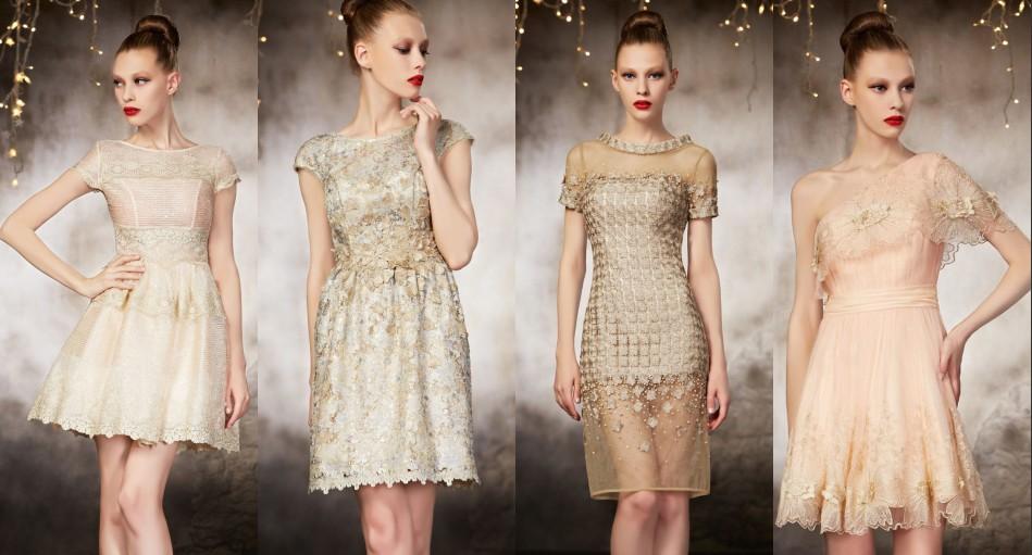 Wunderschöne Abendkleider in verschiedene Farbe, Stile und Stoff