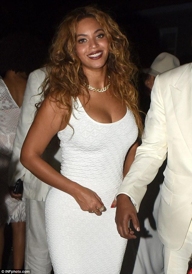 Beyonce  in Solange Knowles Hochzeit