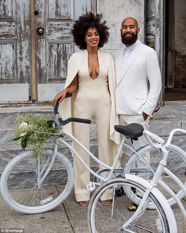 Solange Knowles und Alan Ferguson heiraten in New Orieans