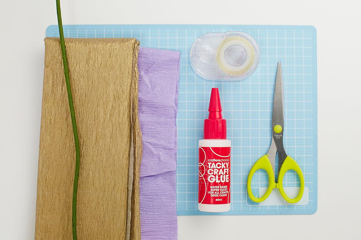 Blimen aus Papier DIY