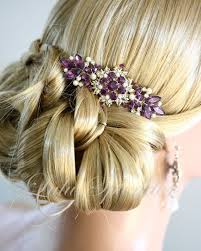 Haarschmuck mit Perlen und Kristall Clip