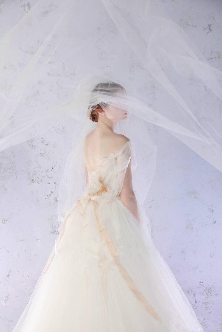 Langes elegantes Brautkleider