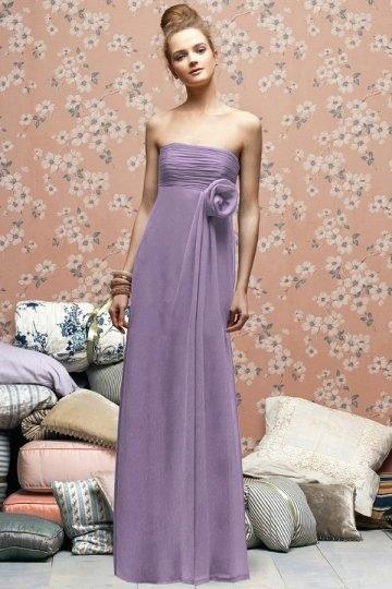 Abendkleider lang lila