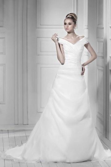 langes Brautkleider