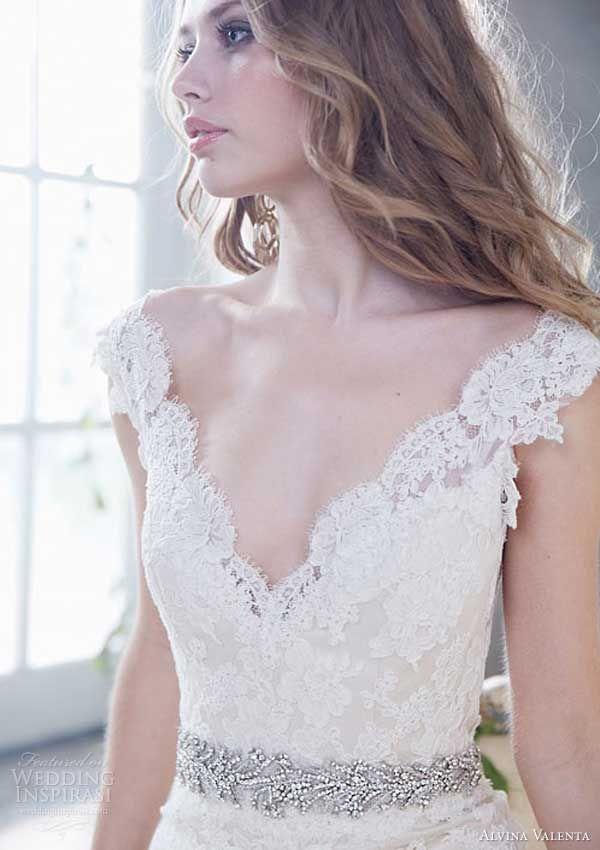 Brautkleider mit Cap Ärmel