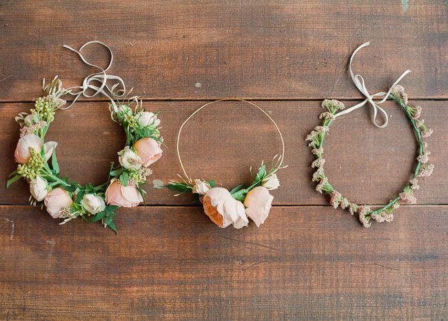Blumenkronen  für Braut
