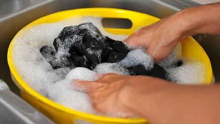 Velour kleidung waschen