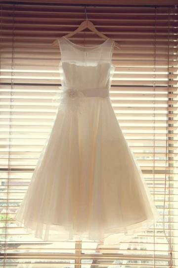 Sexy kurze Brautkleider