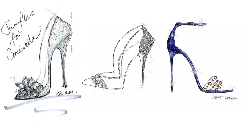 Modische Schuhe für Cinderella