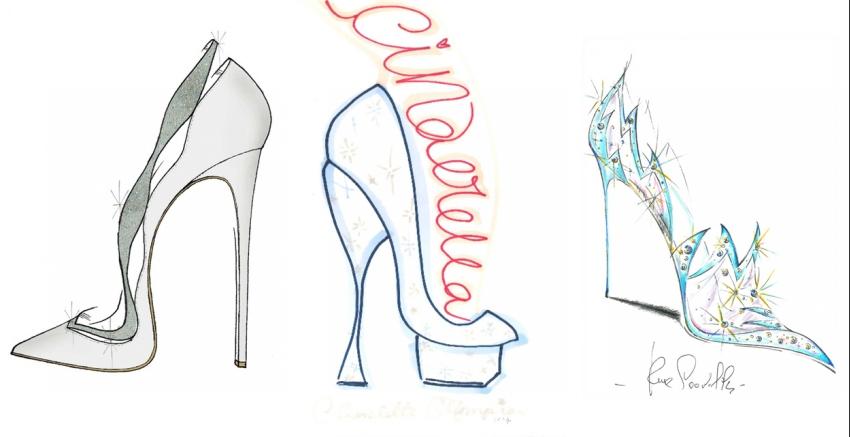 Schuhe der Cinderella