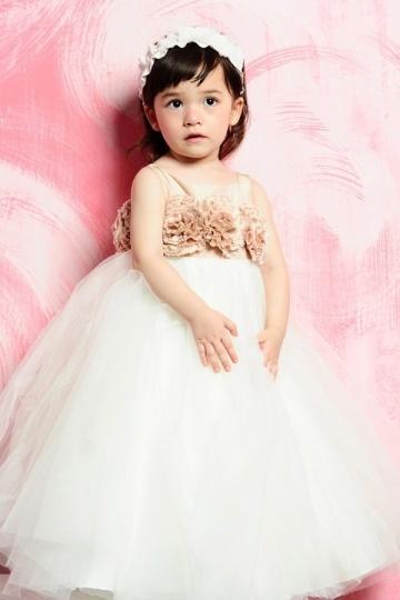 Schönes Blumenmädchenkleid Billig Online