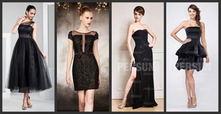 Schöne Schwarze Abendkleider
