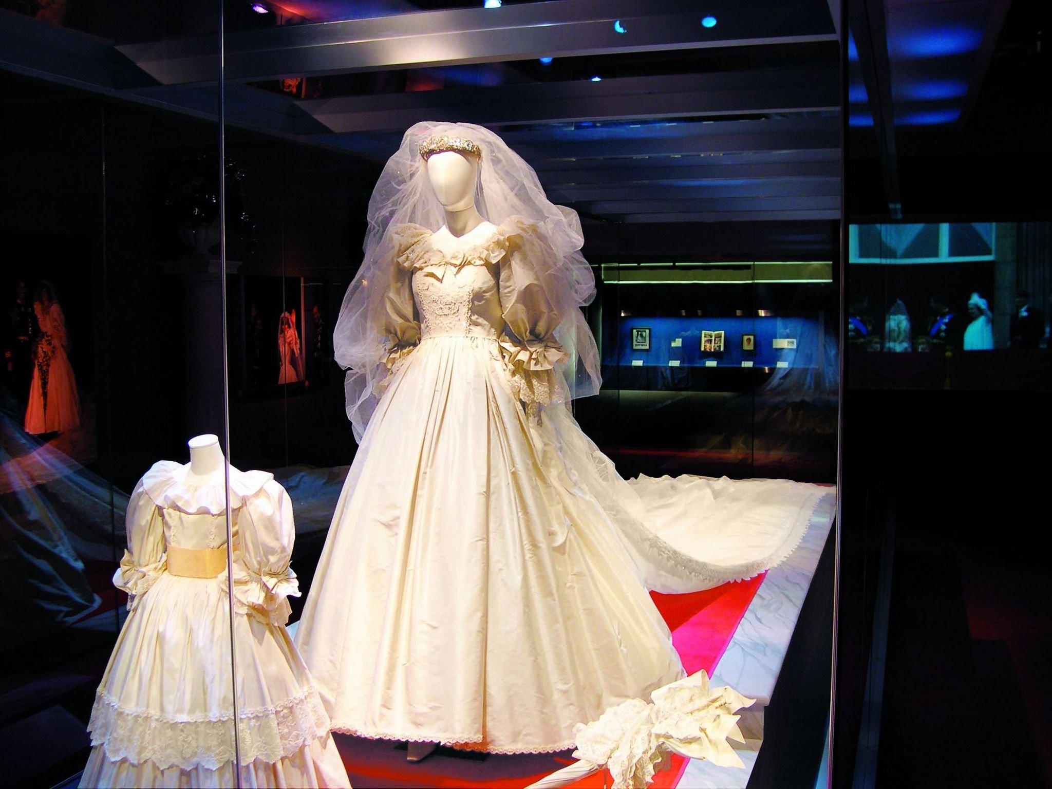 Hochzeitskleid der Prinzessin Diana