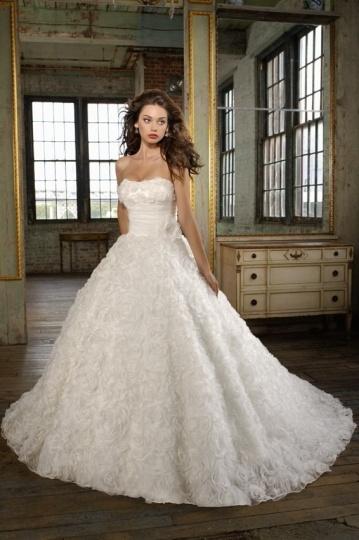Vintages Ball Gown Ivory Brautkleider