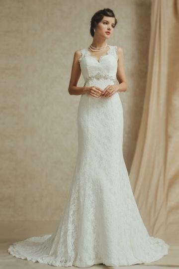 Schönes Ivory Brautkleider Online