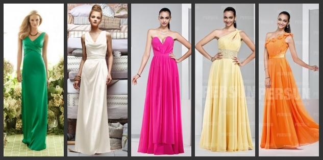 Schöne Kleider für Brautjungfer Online