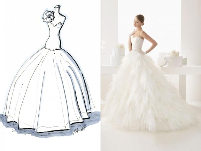 Schönes Ball Gown Brautkleider
