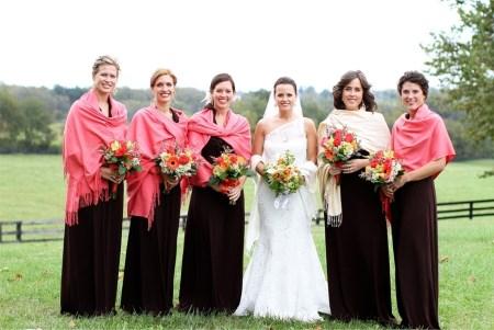 Brautjungfer Hochzeit