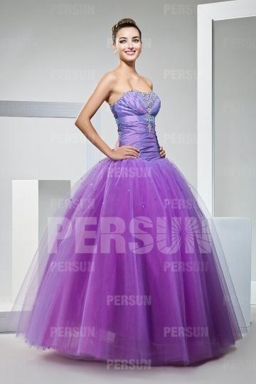 Schönes Langes Ball Gown Lila Ballkleider