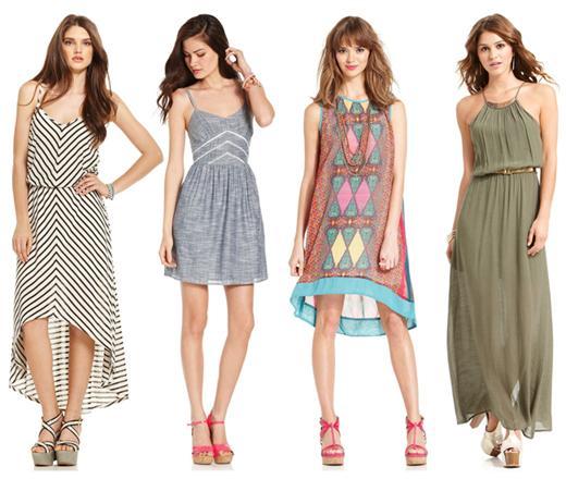 Kleider für Sommer