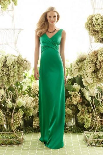 Schönes Langes Grünes Brautjungferkleider Online Kaufen