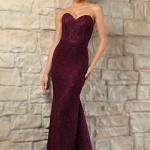 Schönes Langes Lila Abendkleider