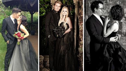 celebrity_black_wedding_dresses