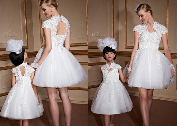 Brautkleider & Blumenmädchenkleider-Persunkleid