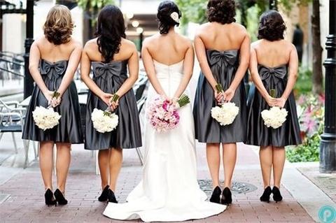 Vintage Kleider für Brautjungfern-Fashion der Hochzeit | Persunkleid