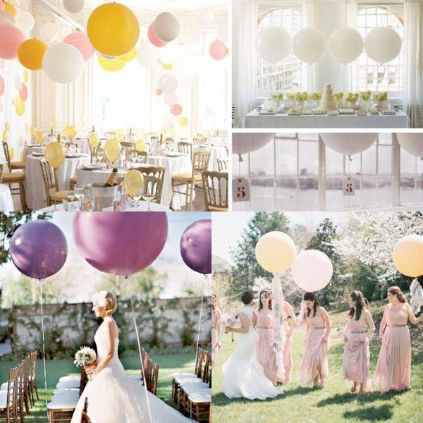 Hochzeit Luftballoons