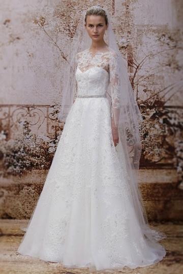Hochzeitskleider mit Ärmeln