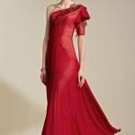 Schönes A Linie Langes Abendkleid-PERSUNKLEID
