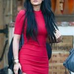 Schönes Kleid in Rot