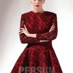Schönes Kurzes Rotes Kleid Online-Persunkleid.de