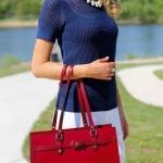 Tasche In Rot