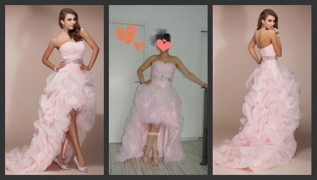 Brautkleid Rosa Abendkleid