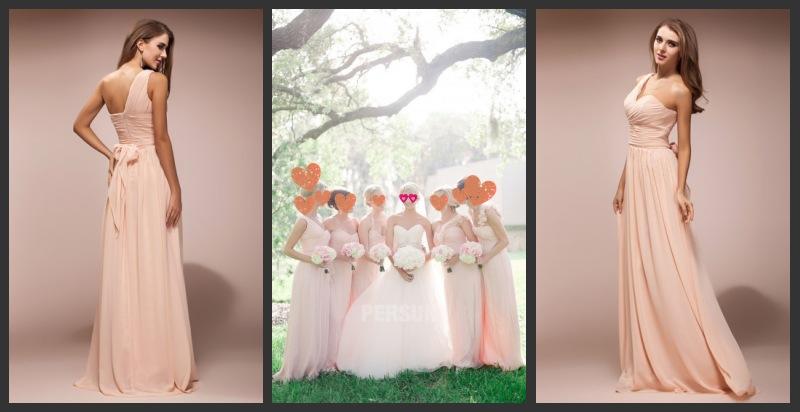 Hochzeit Braut Brautjungfern Mode
