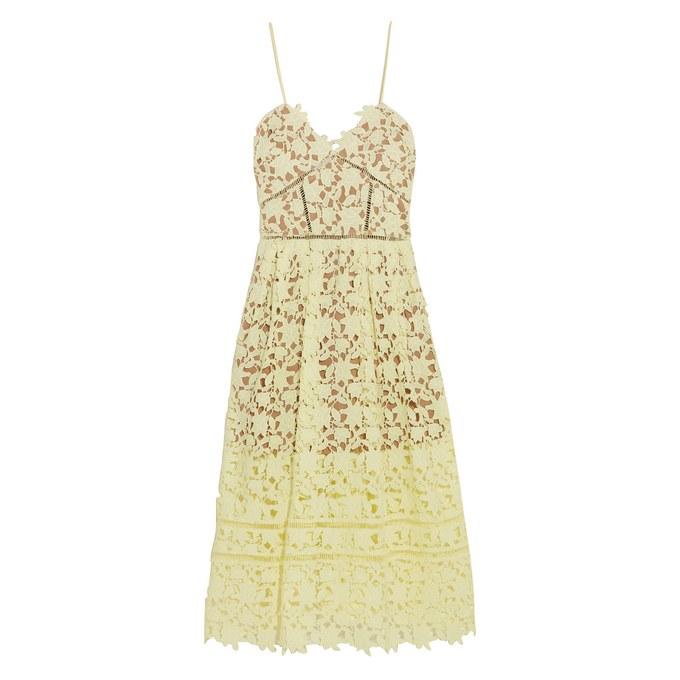 Elegant-Gelb-Sommerkleid-aus-Spitze