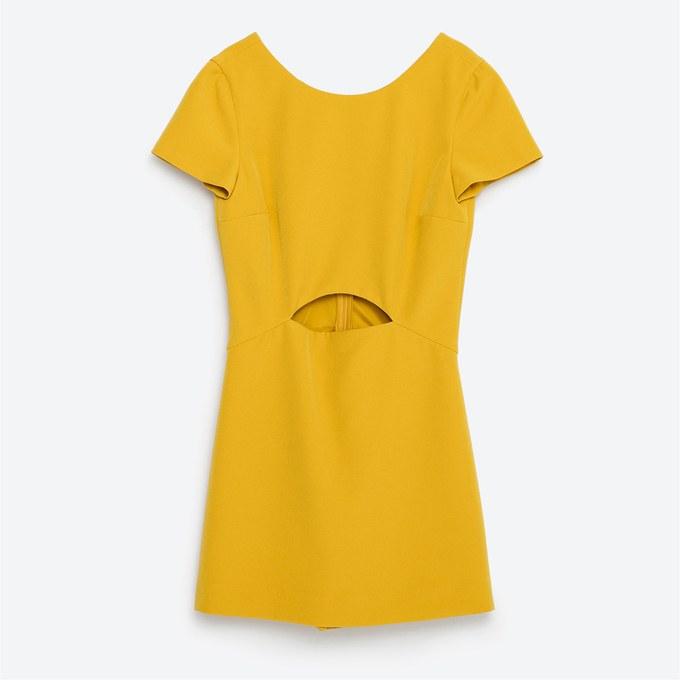 Gelbes-Kleid-Mini