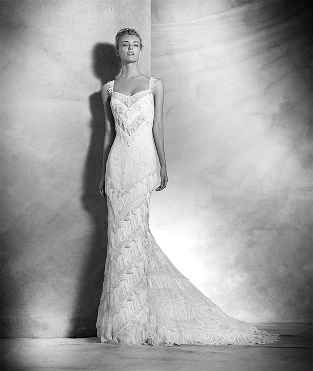 Meerjungfrau-Ivory-Brautkleider-Mit-Fransen