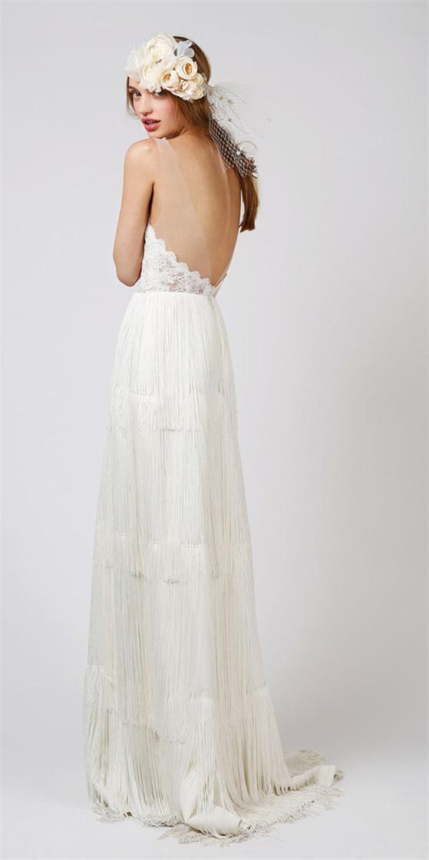 Schön-Fransen-Ivory-Brautkleider