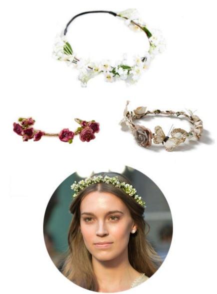 BlumenCrown für Braut