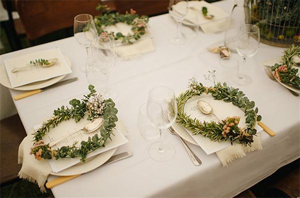Blumen-Hochzeit