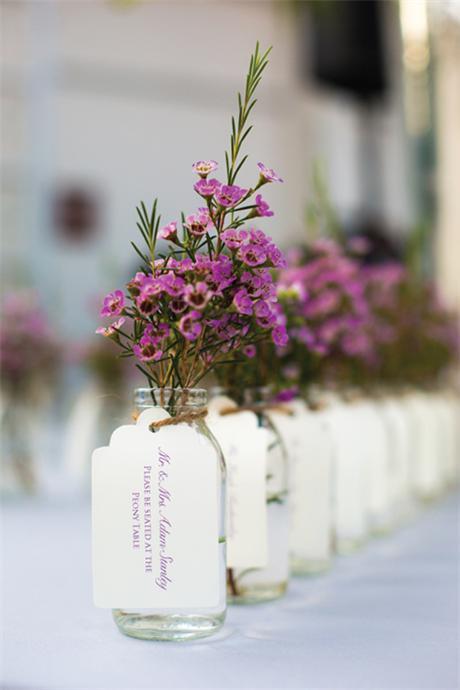 Blumenvase-Hochzeit