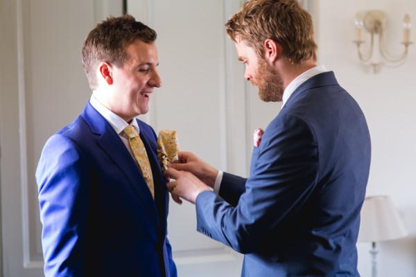 Bräutigam-Hochzeit-Anzug
