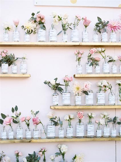 Hochzeit-Blumen-Idee