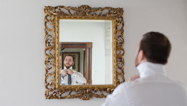 Hochzeit-Schuss-Spiegel